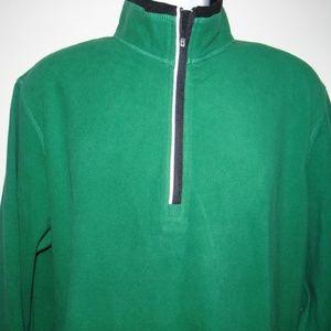 FILA Men's Green 1/2 Zip Sweatshirt Size M New